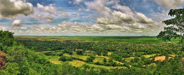 Desde el Monte God, Camboya