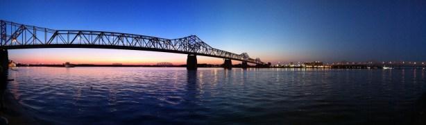 Puente Lousville, disparada con un iPhone 4