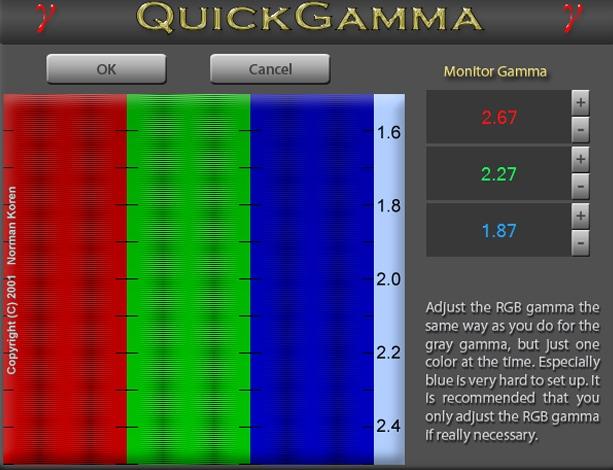 Quick Gamma