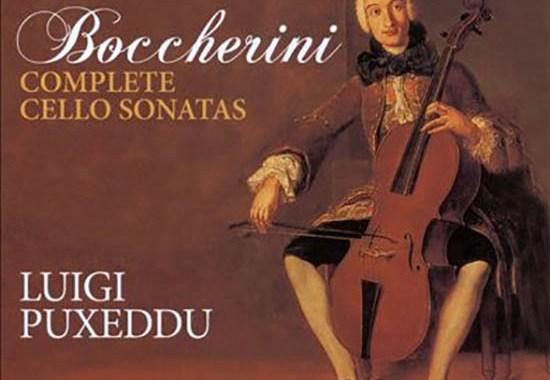 Dipinto con Luigi Boccherini nella copertina del disco di Luigi Puxeddu
