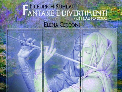 Copertina del disco di Elena Cecconi: Kuhlau