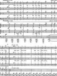 O Fortuna Carmina Burana prima pagina spartito