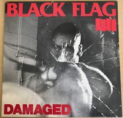 Copertina del disco dei Black Flag, Damaged