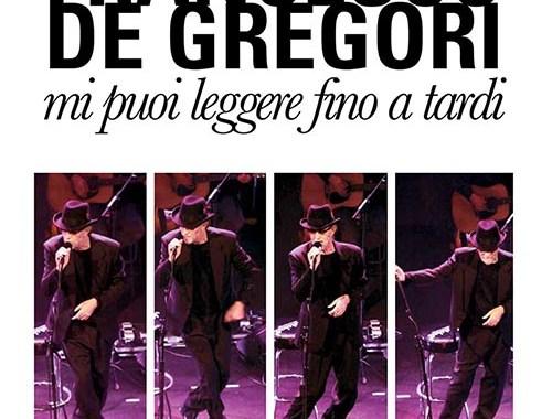 Francesco De Gregori Mi puoi leggere fino a tardi copertina libro