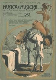 Musica e Musicisti, Ottobre 1904