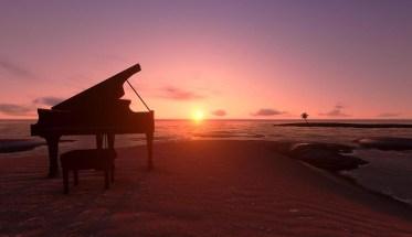 Pianoforte, sole, musica classica