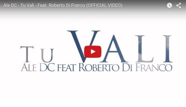 Ale DC, ft. Roberto Franco, Tu vali - Video