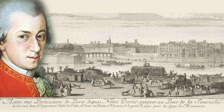 W.A. Mozart, Parigi