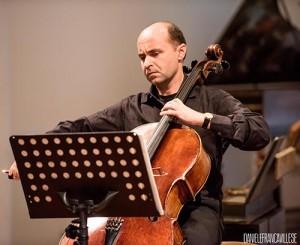 Vittorio Ceccanti durante il concerto a ItalienMusiziert
