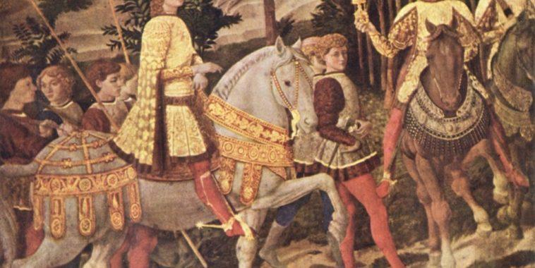 We Three Kings. Processione dei Re Magi dipinto di Gozzoli