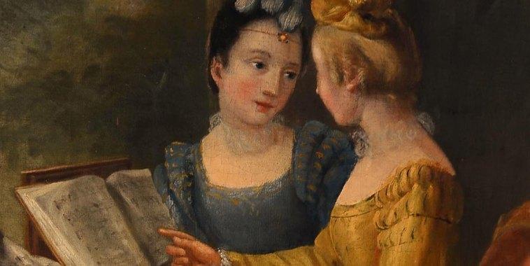 Due ragazze musiciste