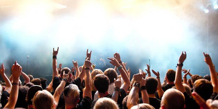 concerto rock pubblico