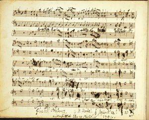 George Frideric Handel Messiah manoscritto Amen Finale