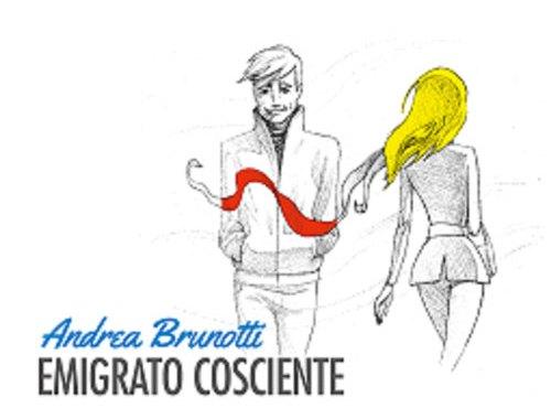 Andrea Brunotti copertina cd Emigrato cosciente