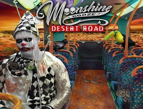 Moonshine Booze Desert Road copertina Album