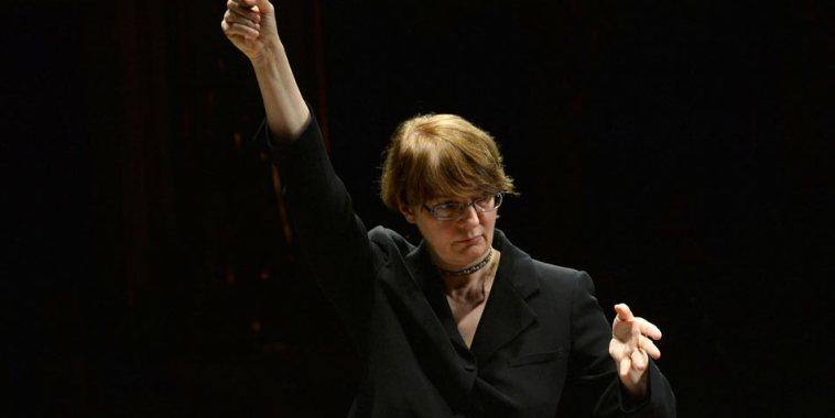 Giovanna Sorbi direttrice d'orchestra