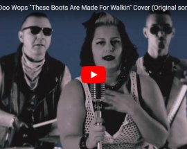 These Boots Are Made For Walkin copertina VIDEO