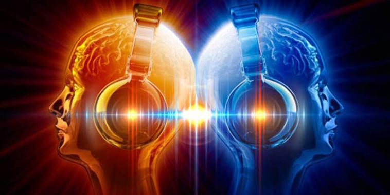 Benefici della Musica menti e cuffie