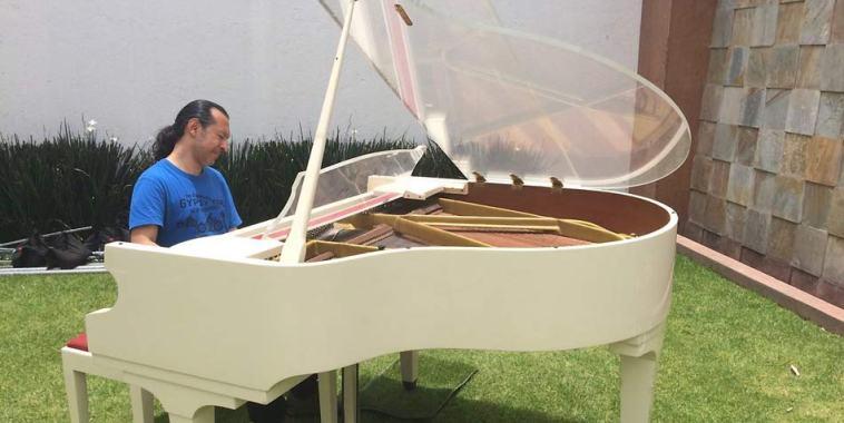 Edo Sanz pianoforte