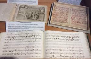 teca collezione Greggiati con Codice Vaticano Rossi