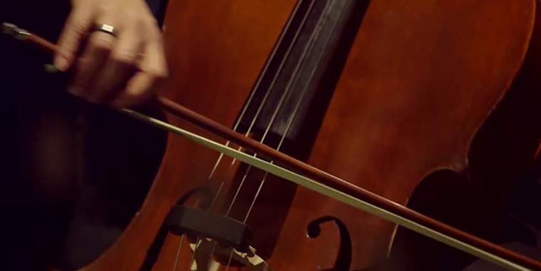 Violoncello strumento musicale ad arco