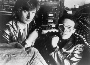 Trevor Horn e Geoff Downesal Sarm East nel 1979