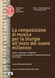 La composizione di musica per la liturgiaall'inizio del nuovo millennio - copertina libro