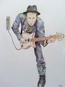 Tom Waits disegno