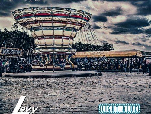 LEVY Light Blue - copertina disco
