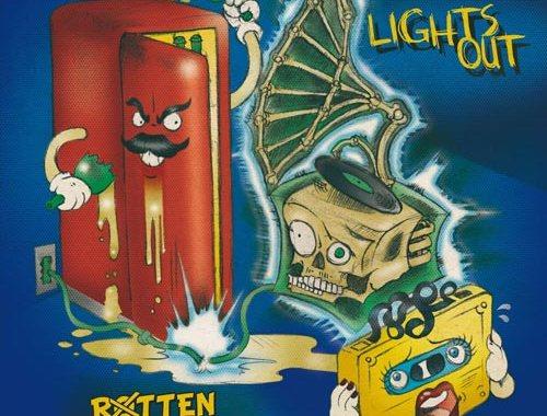 Lights Out - Rotten Stramorten - copertina disco