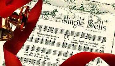 Jingle Bells spartito con campanelle