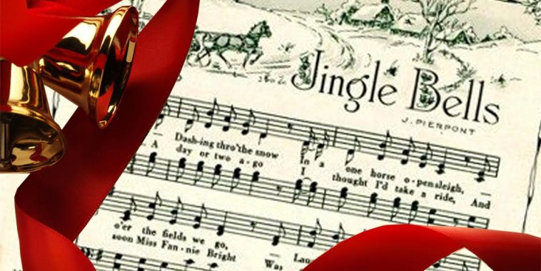 Jingle Bells spartito con campanelle