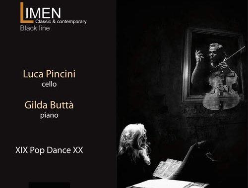 Luca Pincini e Gilda Buttà: XIX Pop Dance XX copertina disco