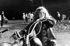 Janis Joplin, motorbike