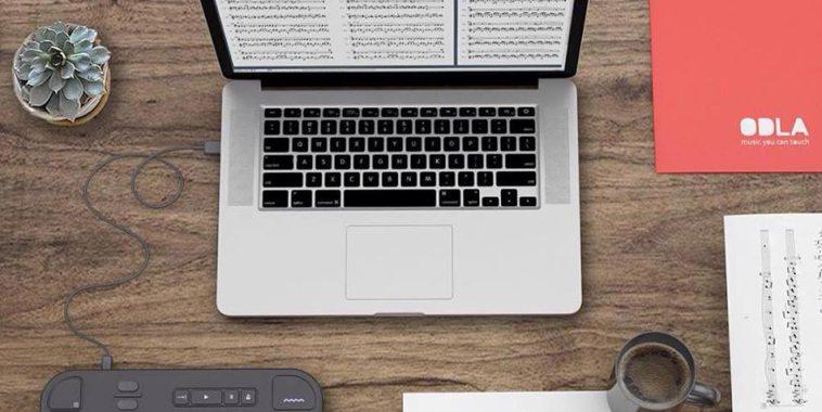 ODLA scrittura digitale della musica computer e fogli musica