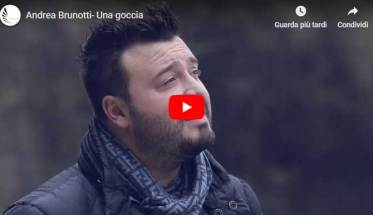 Andrea Brunotti - Una goccia - copertina Video