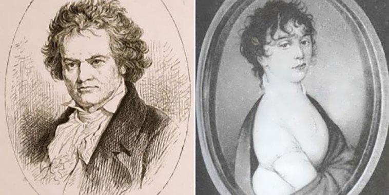 Beethoven e Giulietta Guicciardi - ritratti