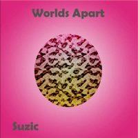Suzic: Worlds Apart copertina rosa dell'EP