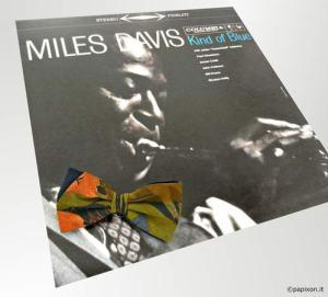 """Copertina del vinile jazz di Miles Davis """"Kind of Blue"""""""