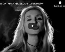 copertina del video di Moran Dix dal titolo Mask and beliefs