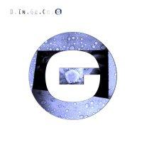 Copertina del disco dei D.in.ge.cc.o dal titolo G, con una lettera G sl fondo bianco
