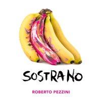 4 banane di cui una rosa nella copertina del disco di Roberto Pezzini dal titolo Sostrano