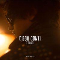 Diego Conti nella copertina del suo disco 3 Gradi