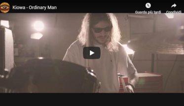 """Copertina del video dei Kiowa """"Ordinary Man"""""""