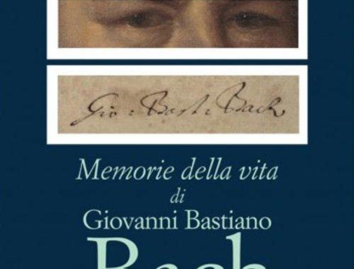 Copertina del libro Memorie della vita di Giovanni Bastiano Bach scritte da lui medesimo