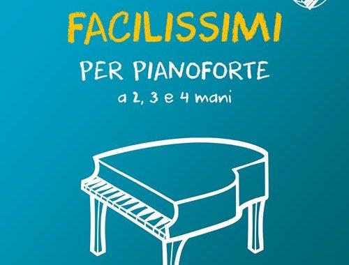Copertina del libro di Virginio Aiello: 55 Pezzi Facilissimi per Pianoforte a 2, 3 e 4 mani