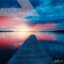 Un tramonto sul mare con un pontile nella copertina del singolo di Jerry Valente: Fly Away