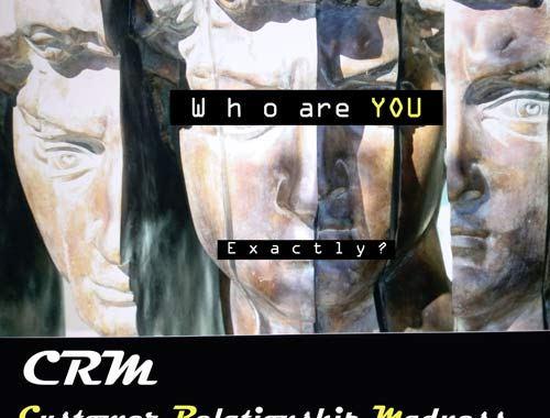 Copertina del disco dei CRM: Who are you, exactly?