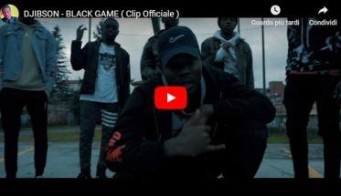 Copertina del video di DJIBSON: Black Game