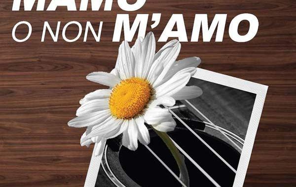 margherita e foto su copertina disco di Mamo's Band: Mamo o non m'amo